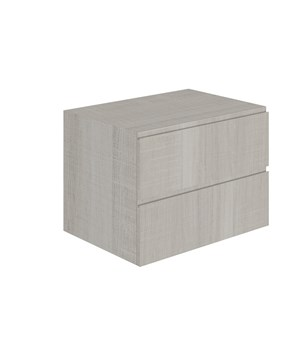 2-drawer washbasin vanity unit