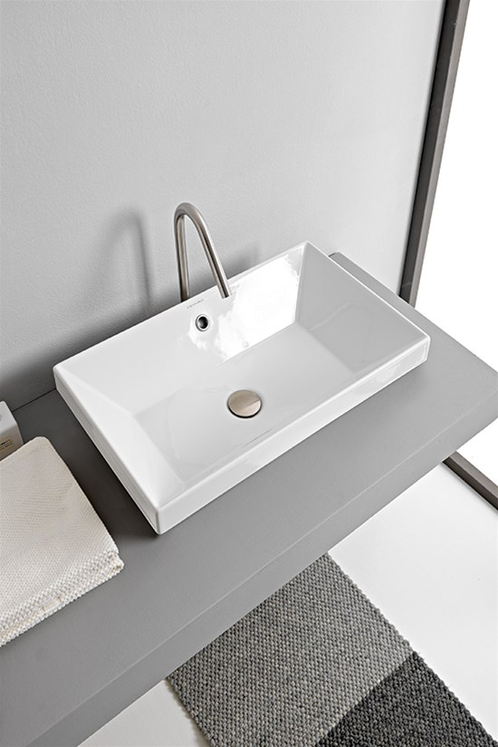 Built-in washbasin 45 x 36 Cm