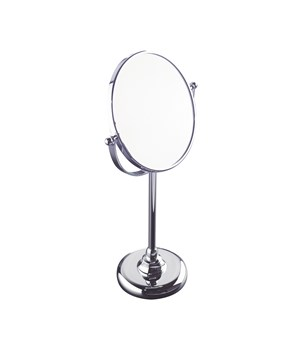 Laid-on magnifying mirror