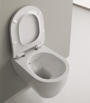 Wall-mounted WC Moon Clean Flush