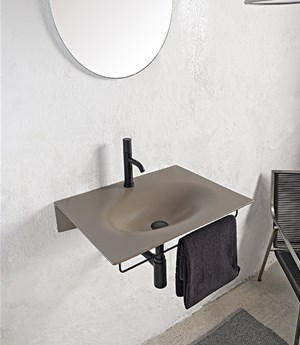 Wall-mounted washbasin 60,5 x 46 cm