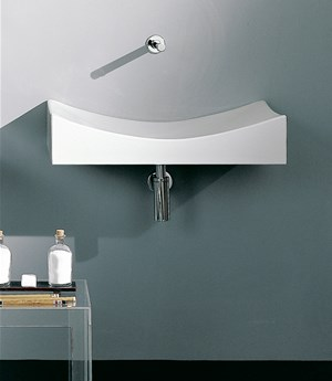 Wall-mounted washbasin 90