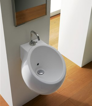 Wall-mounted washbasin Planet 45