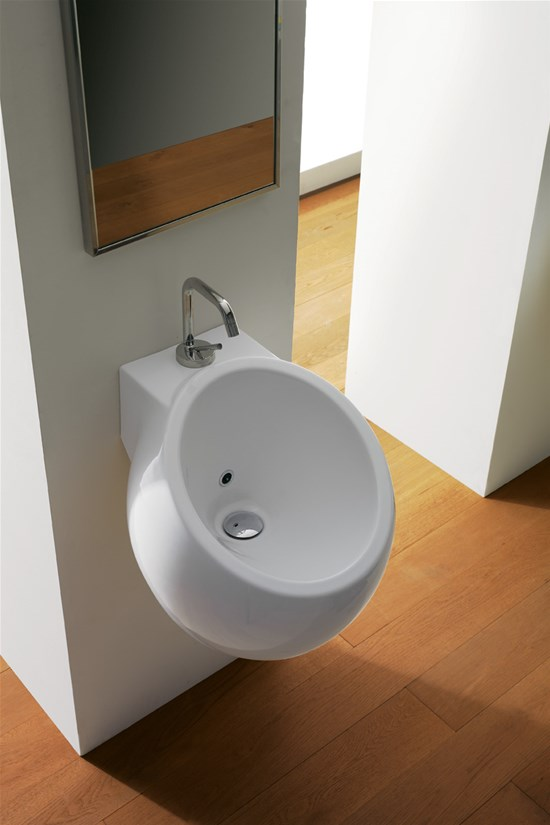 Wall Mounted Washbasin : Wash basins Planet Wall-mounted washbasin Planet 45