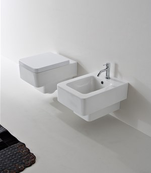Wall-mounted bidet Teorema