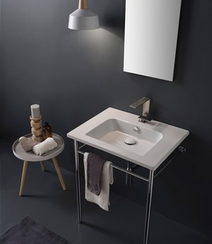 Wall-mounted washbasin  61,5 x 47 Cm