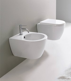 Wall-mounted bidet Moon 45