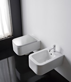 Wall-mounted bidet Next